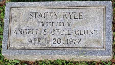 GLUNT, STACEY KYLE - Powhatan County, Virginia   STACEY KYLE GLUNT - Virginia Gravestone Photos
