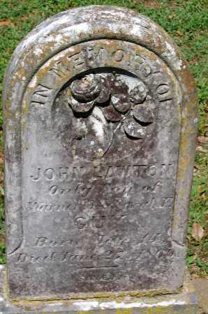 GUY, JOHN LAWTON - Powhatan County, Virginia | JOHN LAWTON GUY - Virginia Gravestone Photos