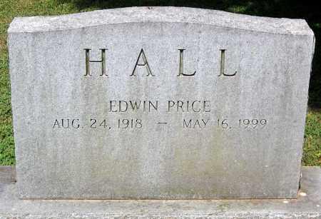 HALL, EDWIN PRICE - Powhatan County, Virginia   EDWIN PRICE HALL - Virginia Gravestone Photos