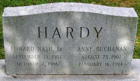 HARDY, ANNE BUCHANANA - Powhatan County, Virginia | ANNE BUCHANANA HARDY - Virginia Gravestone Photos