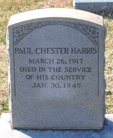HARRIS, PAUL CHESTER - Powhatan County, Virginia | PAUL CHESTER HARRIS - Virginia Gravestone Photos