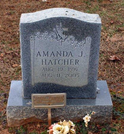 HATCHER, AMANDA J. - Powhatan County, Virginia | AMANDA J. HATCHER - Virginia Gravestone Photos