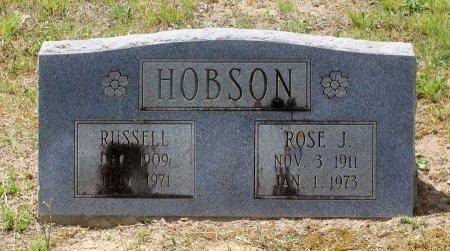 HOBSON, RUSSELL - Powhatan County, Virginia | RUSSELL HOBSON - Virginia Gravestone Photos