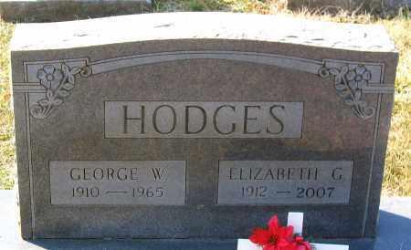 HODGES, ELIZABETH G. - Powhatan County, Virginia | ELIZABETH G. HODGES - Virginia Gravestone Photos