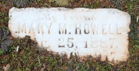 HOWELL, MARY M. - Powhatan County, Virginia | MARY M. HOWELL - Virginia Gravestone Photos