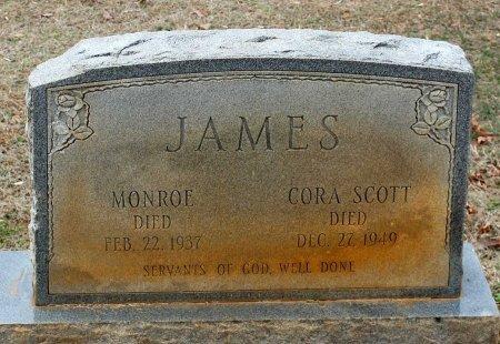 JAMES, CORA - Powhatan County, Virginia | CORA JAMES - Virginia Gravestone Photos