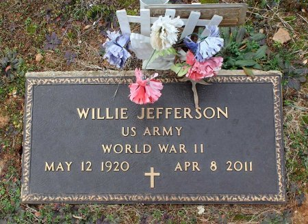 JEFFERSON, WILLIE - Powhatan County, Virginia   WILLIE JEFFERSON - Virginia Gravestone Photos
