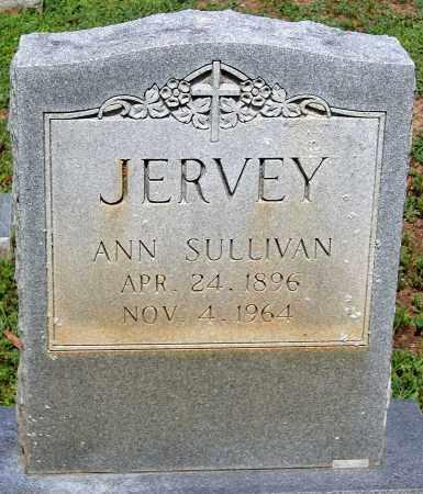 JERVEY, ANN SULLIVAN - Powhatan County, Virginia   ANN SULLIVAN JERVEY - Virginia Gravestone Photos