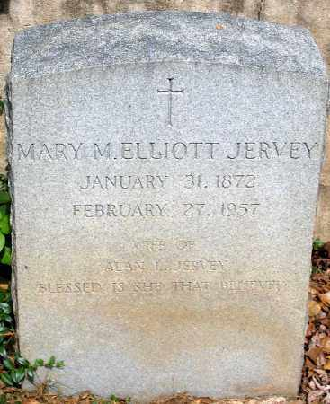 ELLIOTT JERVEY, MARY M. - Powhatan County, Virginia | MARY M. ELLIOTT JERVEY - Virginia Gravestone Photos