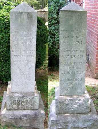 JOHNSON, INNES RANDOLPH - Powhatan County, Virginia | INNES RANDOLPH JOHNSON - Virginia Gravestone Photos