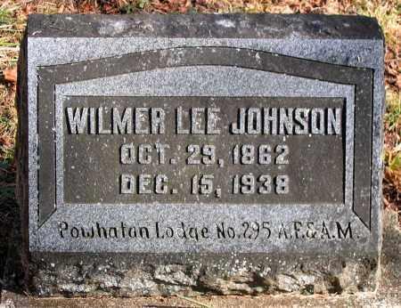 JOHNSON, WILMER LEE - Powhatan County, Virginia   WILMER LEE JOHNSON - Virginia Gravestone Photos