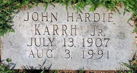 KARRH, JOHN HARDIE JR. - Powhatan County, Virginia   JOHN HARDIE JR. KARRH - Virginia Gravestone Photos