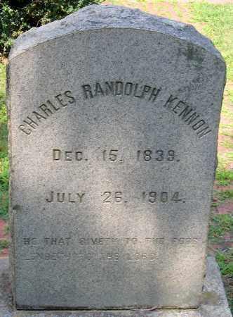 KENNON, CHARLES RANDOLPH - Powhatan County, Virginia | CHARLES RANDOLPH KENNON - Virginia Gravestone Photos