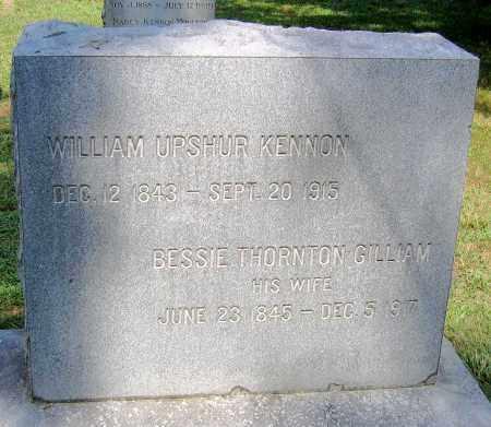 KENNON, BESSIE THORNTON - Powhatan County, Virginia | BESSIE THORNTON KENNON - Virginia Gravestone Photos