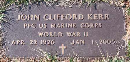 KERR, JOHN CLIFFORD - Powhatan County, Virginia | JOHN CLIFFORD KERR - Virginia Gravestone Photos