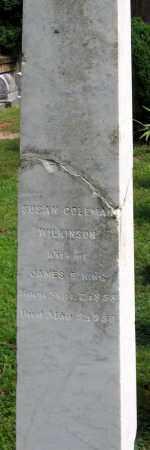 WILKINSON KING, SUSAN COLEMAN - Powhatan County, Virginia | SUSAN COLEMAN WILKINSON KING - Virginia Gravestone Photos
