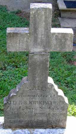 KIRKPATRICK, SALLY - Powhatan County, Virginia | SALLY KIRKPATRICK - Virginia Gravestone Photos