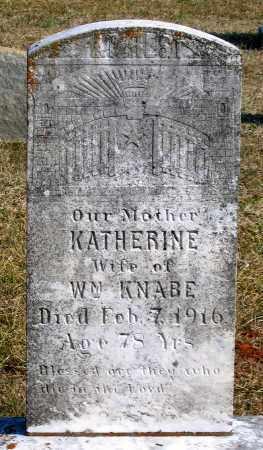 KNABE, KATHERINE - Powhatan County, Virginia | KATHERINE KNABE - Virginia Gravestone Photos