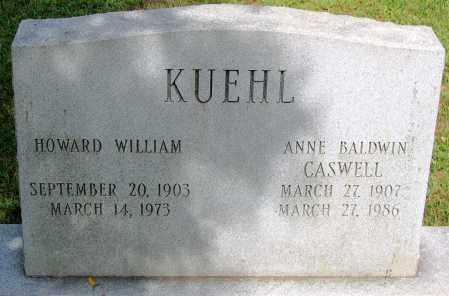 KUEHL, HOWARD WILLIAM - Powhatan County, Virginia | HOWARD WILLIAM KUEHL - Virginia Gravestone Photos
