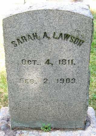 LAWSON, SARAH A. - Powhatan County, Virginia   SARAH A. LAWSON - Virginia Gravestone Photos