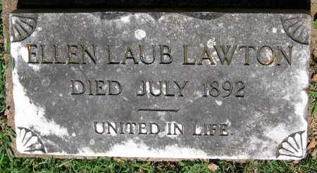 LAWTON, ELLEN LAUB - Powhatan County, Virginia | ELLEN LAUB LAWTON - Virginia Gravestone Photos