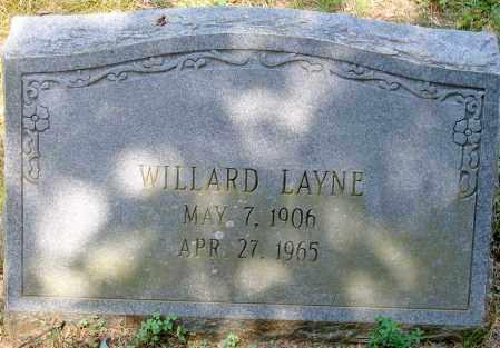 LAYNE, WILLARD - Powhatan County, Virginia | WILLARD LAYNE - Virginia Gravestone Photos