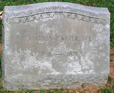 LEE, CHARLES CARTER - Powhatan County, Virginia   CHARLES CARTER LEE - Virginia Gravestone Photos
