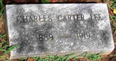 LEE, CHARLES CARTER - Powhatan County, Virginia | CHARLES CARTER LEE - Virginia Gravestone Photos