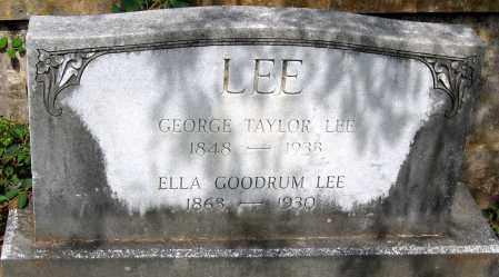 LEE, ELLA GOODRUM - Powhatan County, Virginia   ELLA GOODRUM LEE - Virginia Gravestone Photos