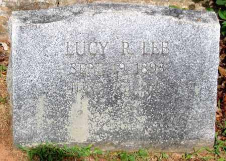 LEE, LUCY R. - Powhatan County, Virginia | LUCY R. LEE - Virginia Gravestone Photos