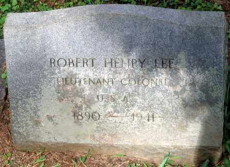 LEE, ROBERT HENRY - Powhatan County, Virginia | ROBERT HENRY LEE - Virginia Gravestone Photos