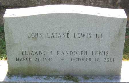 LEWIS, ELIZABETH RANDOLPH - Powhatan County, Virginia   ELIZABETH RANDOLPH LEWIS - Virginia Gravestone Photos