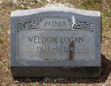 LOGAN, WELDON - Powhatan County, Virginia | WELDON LOGAN - Virginia Gravestone Photos