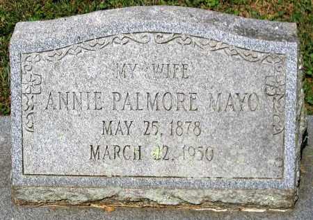 MAYO, ANNIE PALMORE - Powhatan County, Virginia | ANNIE PALMORE MAYO - Virginia Gravestone Photos