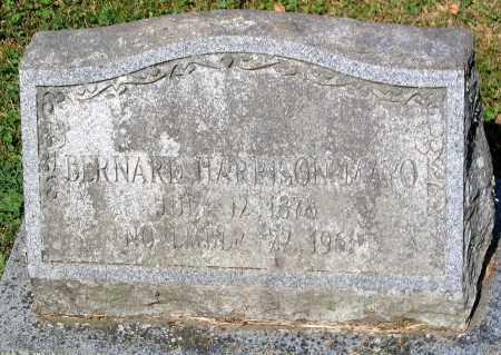 MAYO, BERNARD HARRISON - Powhatan County, Virginia | BERNARD HARRISON MAYO - Virginia Gravestone Photos