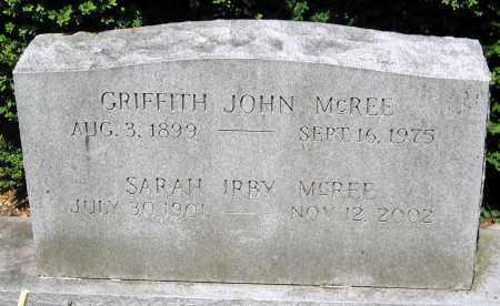 MCREE, GRIFFITH JOHN - Powhatan County, Virginia | GRIFFITH JOHN MCREE - Virginia Gravestone Photos