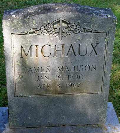 MICHAUX, JAMES MADISON - Powhatan County, Virginia | JAMES MADISON MICHAUX - Virginia Gravestone Photos