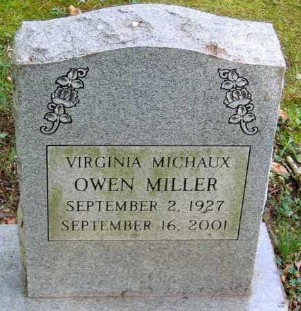 MILLER, VIRGINIA MICHAUX - Powhatan County, Virginia | VIRGINIA MICHAUX MILLER - Virginia Gravestone Photos