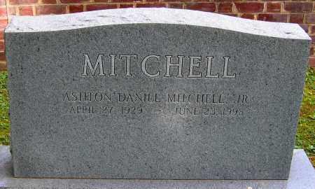 MITCHELL, ASHTON DANIEL JR. - Powhatan County, Virginia   ASHTON DANIEL JR. MITCHELL - Virginia Gravestone Photos