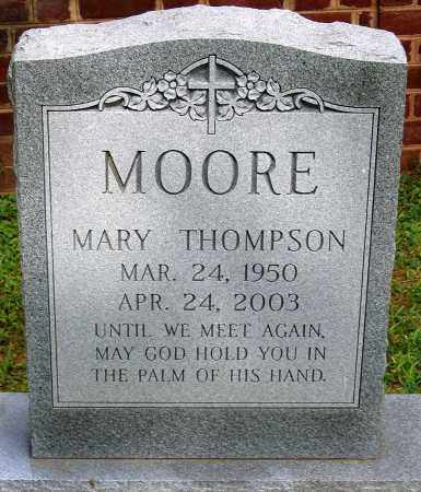 MOORE, MARY THOMPSON - Powhatan County, Virginia | MARY THOMPSON MOORE - Virginia Gravestone Photos