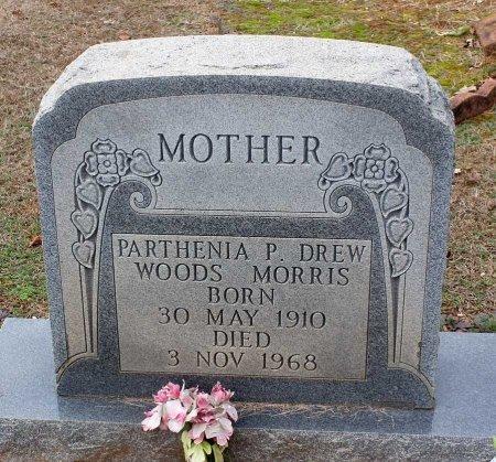 WOODS MORRIS, PARTHENIA P. DREW - Powhatan County, Virginia | PARTHENIA P. DREW WOODS MORRIS - Virginia Gravestone Photos