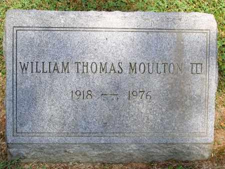 MOULTON, WILIAM THOMAS III - Powhatan County, Virginia   WILIAM THOMAS III MOULTON - Virginia Gravestone Photos