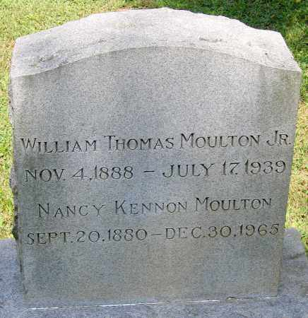 MOULTON, NANCY KENNON - Powhatan County, Virginia | NANCY KENNON MOULTON - Virginia Gravestone Photos
