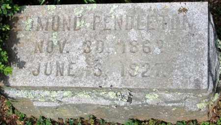PENDLETON, EDMUND - Powhatan County, Virginia | EDMUND PENDLETON - Virginia Gravestone Photos