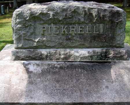PICKRELL, MARY PUTNAM - Powhatan County, Virginia   MARY PUTNAM PICKRELL - Virginia Gravestone Photos