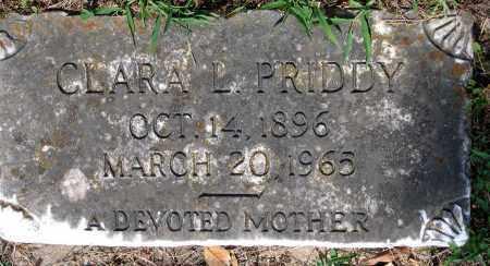 PRIDDY, CLARA L. - Powhatan County, Virginia   CLARA L. PRIDDY - Virginia Gravestone Photos
