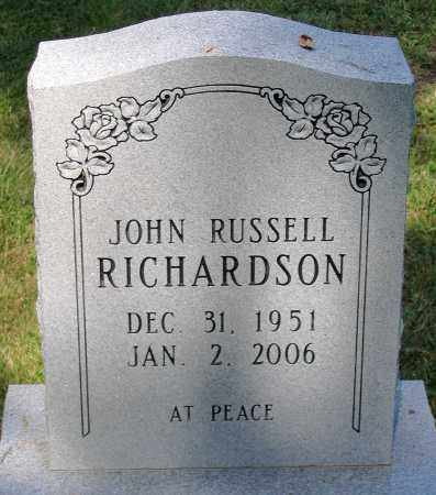 RICHARDSON, JOHN RUSSELL - Powhatan County, Virginia | JOHN RUSSELL RICHARDSON - Virginia Gravestone Photos