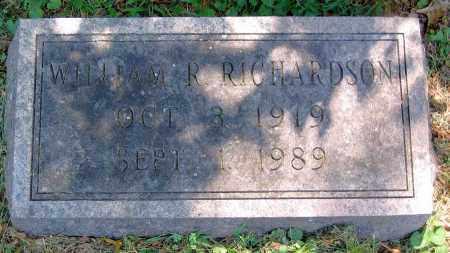 RICHARDSON, WILLIAM R. - Powhatan County, Virginia | WILLIAM R. RICHARDSON - Virginia Gravestone Photos