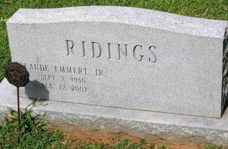 RIDINGS, CLAUDE EMMERT JR. - Powhatan County, Virginia | CLAUDE EMMERT JR. RIDINGS - Virginia Gravestone Photos