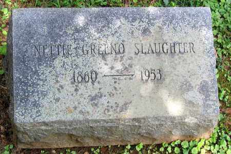 SLAUGHTER, NETTIE GRELNO - Powhatan County, Virginia   NETTIE GRELNO SLAUGHTER - Virginia Gravestone Photos